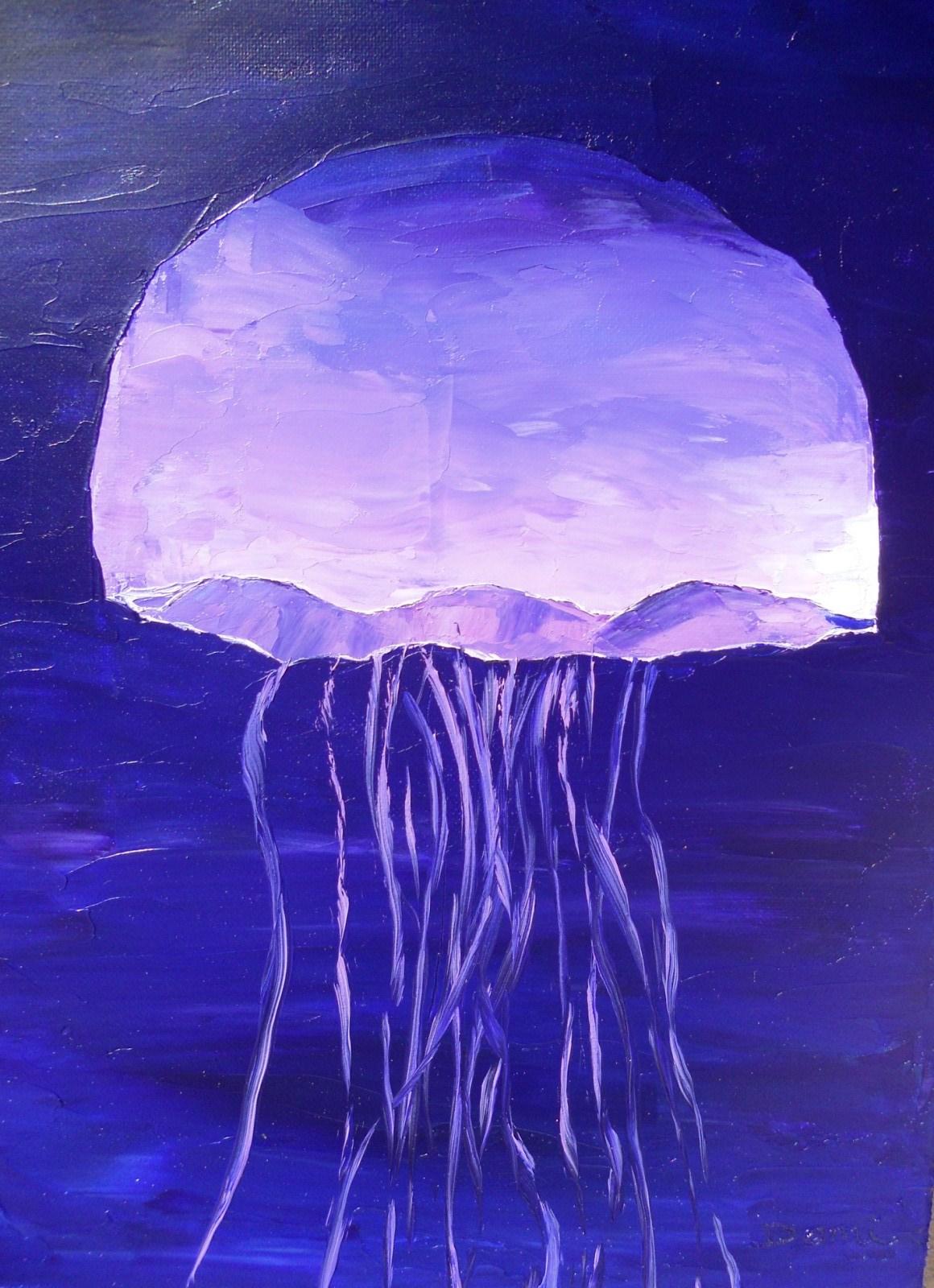 Fond marin Méduse 1